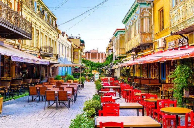 مقاهي في تبليسي