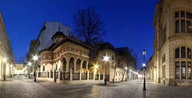البلدة القديمة فى بوخارست