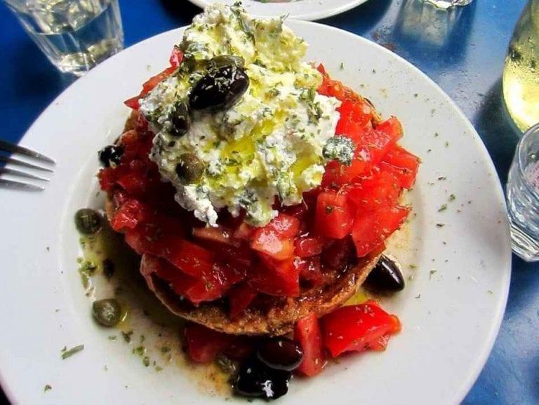 فلاونس - الأكلات المشهوره في اليونان Greece