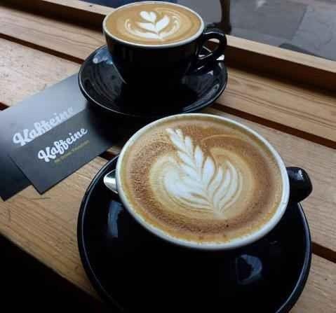 """مقهى """"كافيين""""..."""