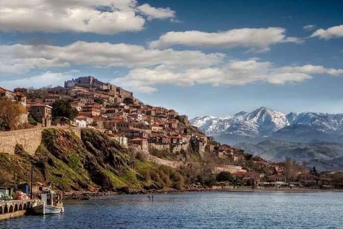 السياحة في جزيرة ليسبوس اليونان