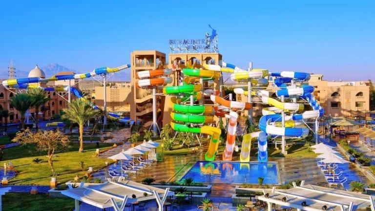 """""""أكوا بارك""""..واحدة من أجمل مدن الملاهي في شرم الشيخ..."""
