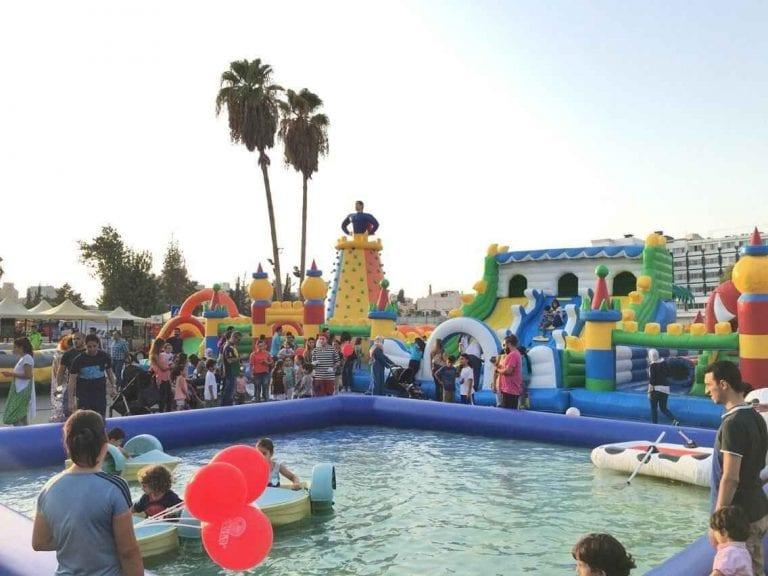Bouncy town-ملاهي في الأردنJordan