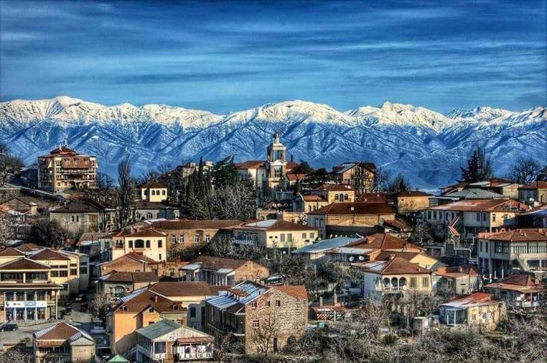 مدينة تيلافي جورجيا