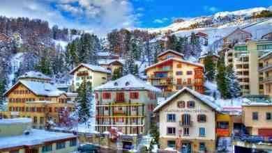 السياحة في سانت موريتز السويسرية