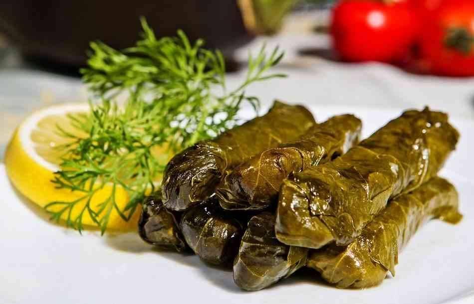 Dolmads دولمادس - الأكلات المشهورة في اليونان Greece