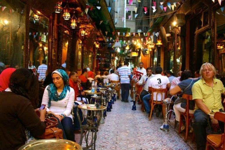 مقاهي وسط البلد القاهرة