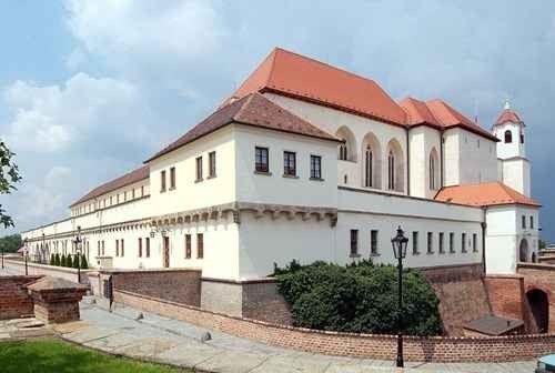 قلعة سبيلبيرك Špilberk Castle
