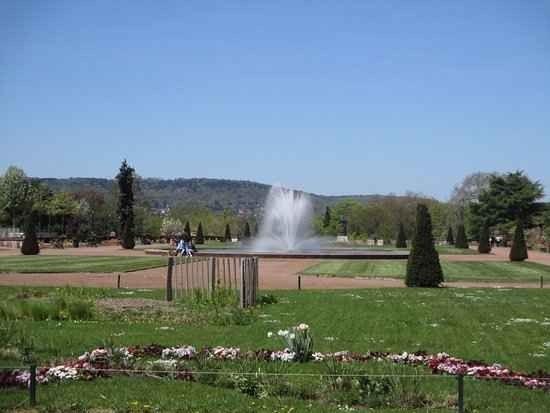 حديقة المنتزه Esplanade Garden Of Metz