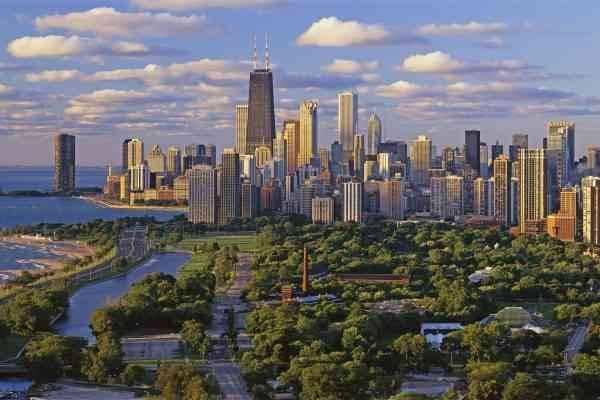 المناطق السياحية القريبة من شيكاغو CHICAGO
