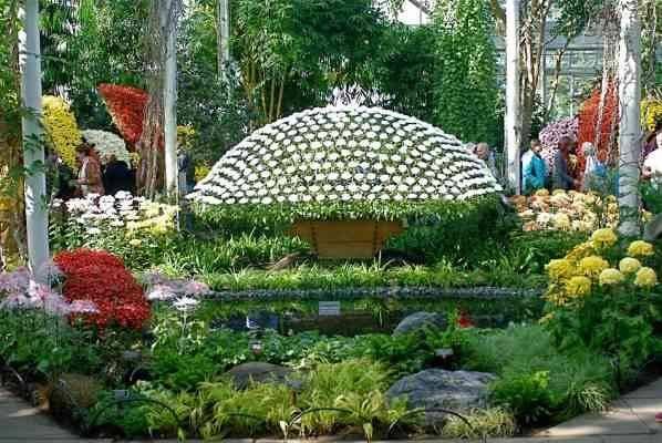 حديقة النباتات في نيويورك - أماكن سياحية للاطفال في نيويورك New York City