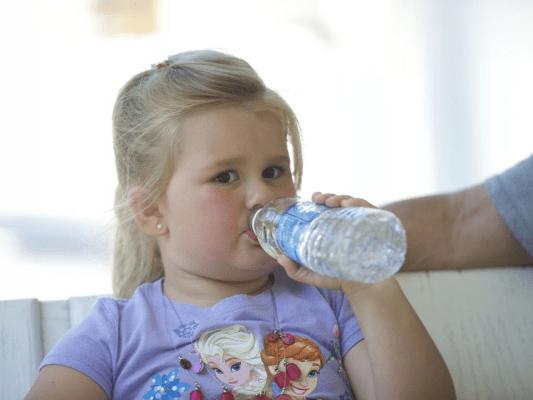 علاج سخونة الاطفال