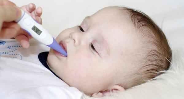 علاج سخونة الرضع