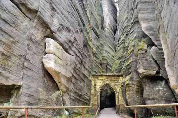 Adrspach-Teplice Rocks - المناطق السياحية القريبة من براغ prague