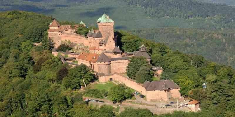 Château du Haut-Kœnigsbourg - المناطق السياحية القريبة من ستراسبورغ Strasburg