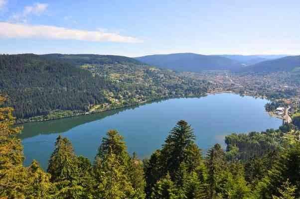 Gerardmer lake - المناطق السياحية القريبة من ستراسبورغ Strasburg