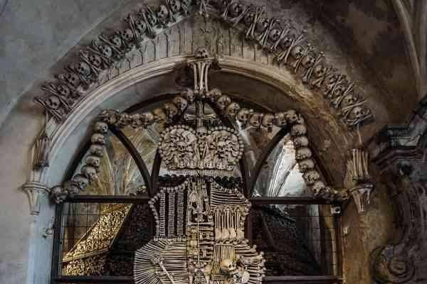 الكنيسة العظمية الشهيرة ب Kutna Hora