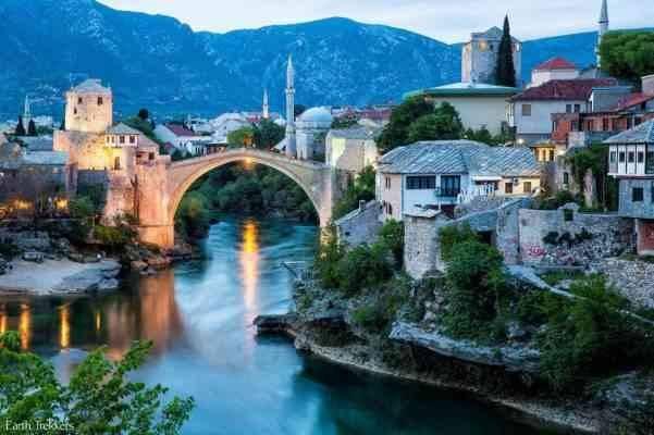 Mostar - المناطق السياحية القريبة من سراييفو Sarajevo