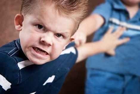مشكلة العدوانية عند الاطفال ..