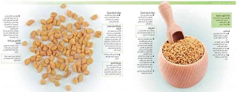 فوائد الحلبة الصحية - فوائد الحلبة
