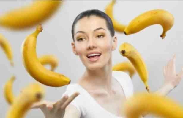فوائد قشر الموز للبشرة والجلد
