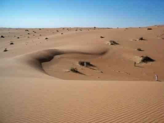 رحلات صحراء الربع الخالي