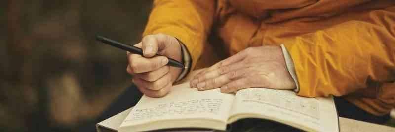 الكتابة على الورق - كيف أتعلم الكتابة