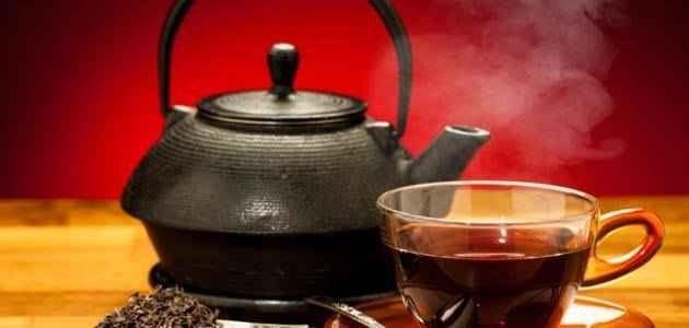 الشاي الأسود..