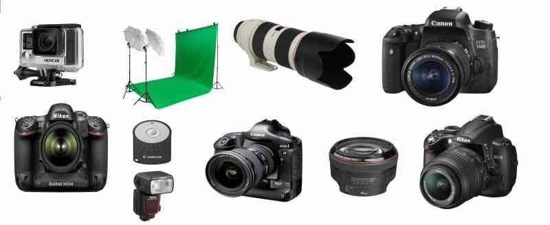 أنواع الكاميرات - مصطلحات التصوير