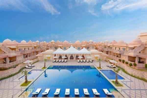 فندق جراند بهارات بالهند - أشهر الفنادق في العالم