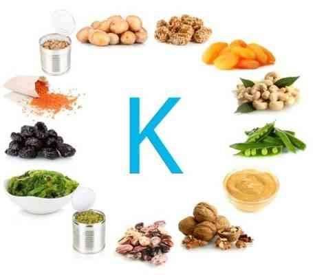 فوائد فيتامين k