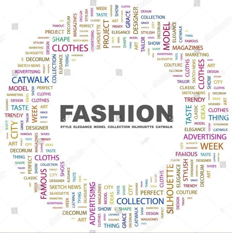 مصطلحات الفاشن والأزياء