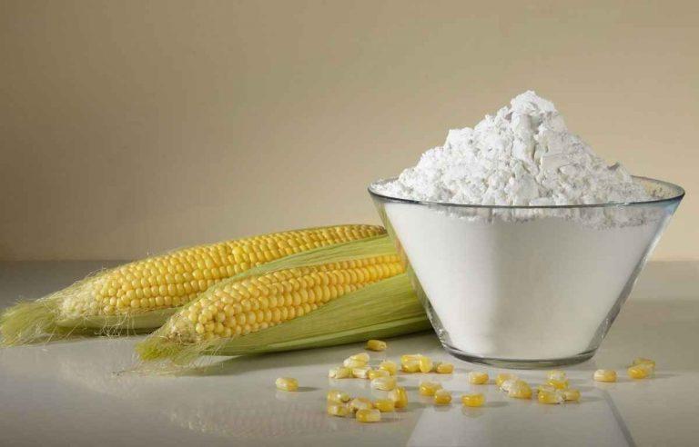 استخدامات نشا الذرة