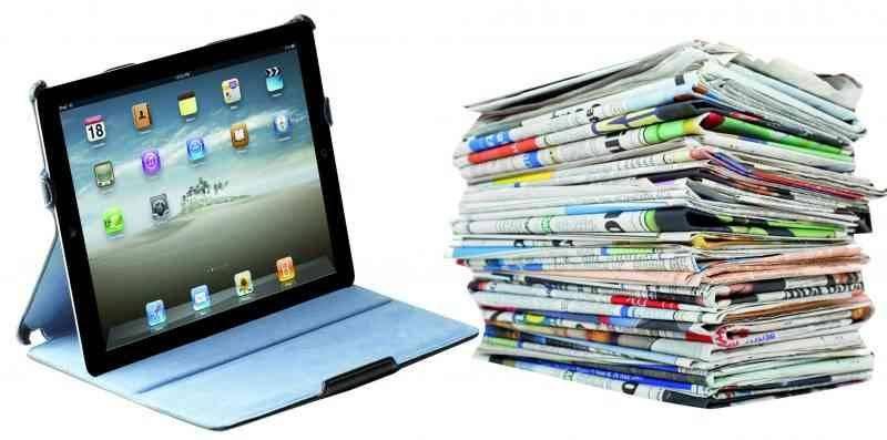 الصحافة الإلكترونية - أنواع الصحافة