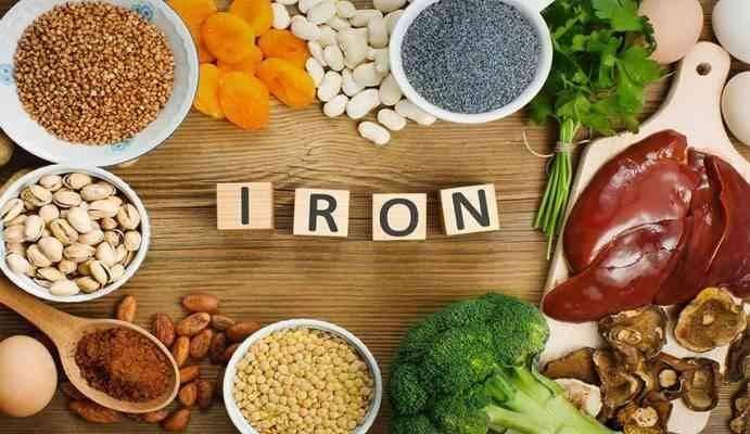 أعراض نقص الحديد عند النساء