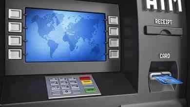 مصطلحات الصراف الألي بالإنجليزي ATM