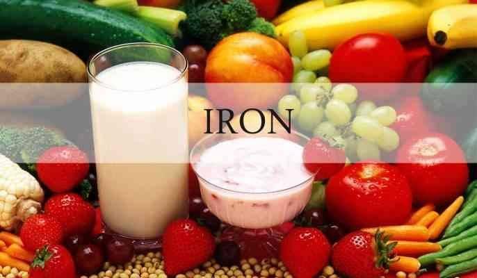 فوائد الحديد