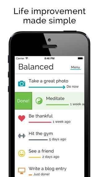 تطبيق Balanced - تطبيقات تساعدك في حياتك