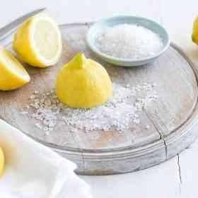 استخدامات ملح الليمون