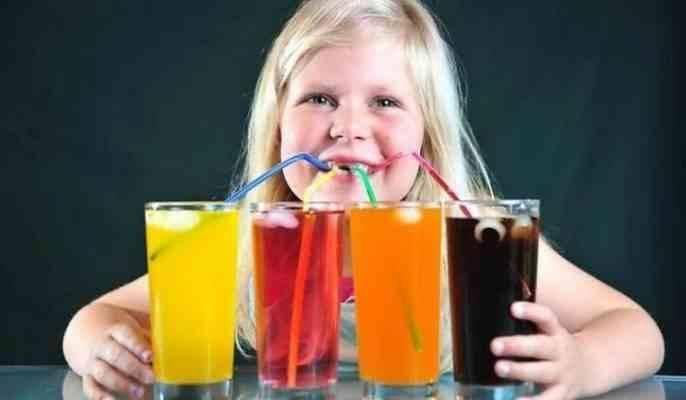 اضرار المشروبات الغازية على الأطفال