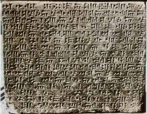 العثور على نصوص فينيقية مكتوبة
