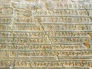 تقسيم اللغة الفينيقية