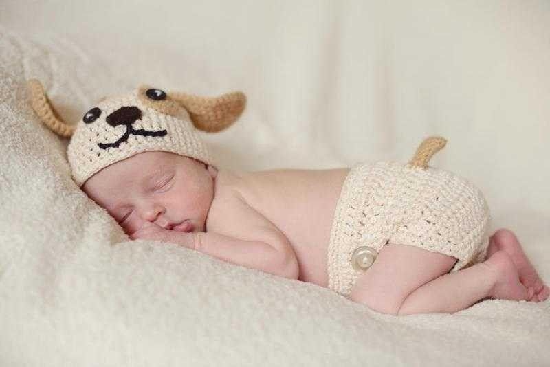 نوم الأطفال علي البطن