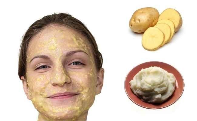 7- قناع عصير البطاطا