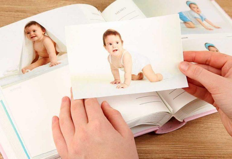 ألبوم صور الطفل