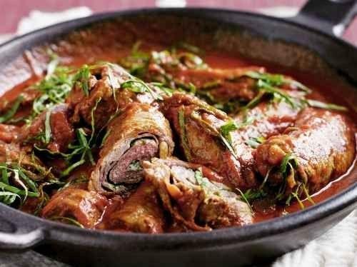 طبخ اللحم مع الطماطم- افكار لطبخ اللحم