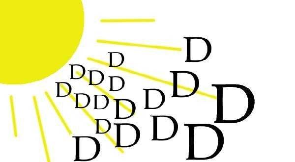 أشعة الشمس - علاج الكتمة عند الأطفال