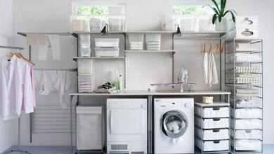 Photo of افكار لغرفة الغسيل .. ترتيب غرفة الغسيل ..