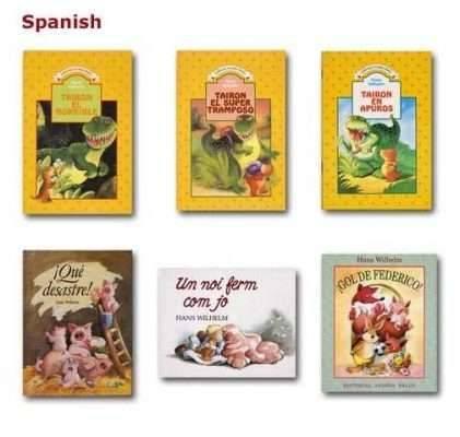 ترجمة كُتب الأطفال إلى اللغة الاسبانية