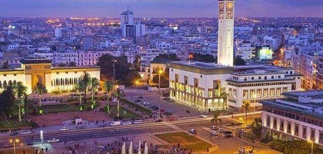 المسافات بين مدن المغرب
